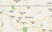 Find where our Montana cabins and vacation rentals are located.