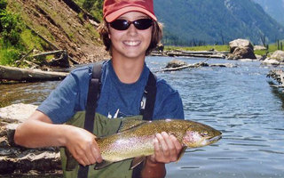 West Yellowstone, Montana Cabins Activities - Fly Fishing