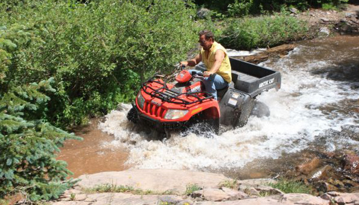 West Yellowstone, Montana Cabins Activities - ATV Rentals and Snowmobiles
