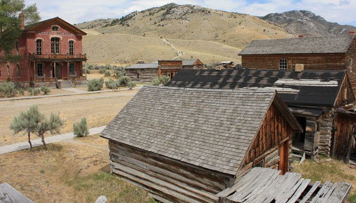 West Yellowstone, Montana Cabins Activities - Nearby Ghost Towns