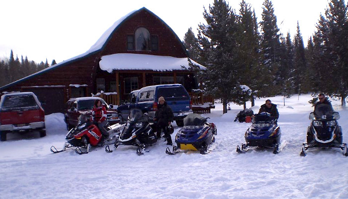West Yellowstone, Montana Cabins Activities - Snowmobile Rentals
